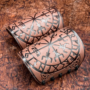 You added Brown Vegvisir Leather Bracer to your cart.