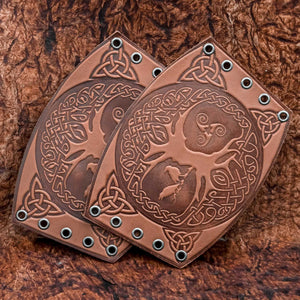 You added Brown Yggdrasil Leather Bracer/Wide Leather Cuff to your cart.