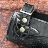 Yggdrasil Leather Bracers/Arm Guards