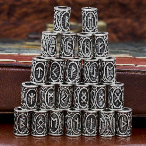 Regular Norse Rune Bead (set of 3)