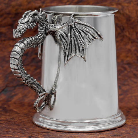 Dragon Pewter Tankard/Mug
