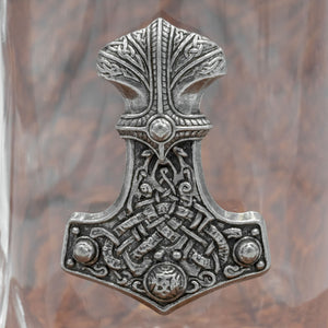 You added Glass and Pewter Thor's Hammer Tankard/Mug to your cart.