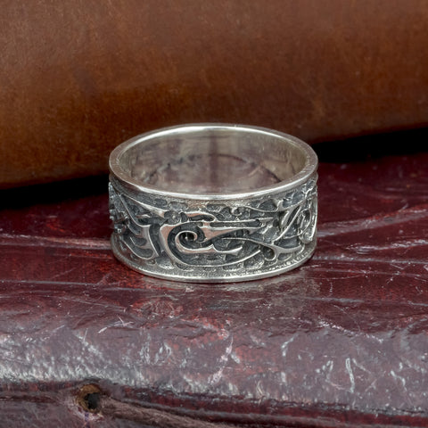 skullvikings viking norse wedding ring band uk