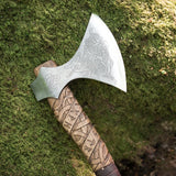 The Mammen Bearded Axe with Thor and Runes
