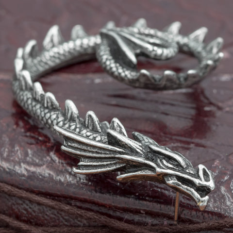 Jormungand Dragon Ear-Wrap / Earring (Right Ear)