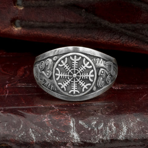 Ravens Helm of Awe Ring