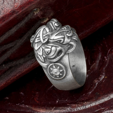 Skoll and Hati Wolves Ring