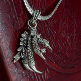 925 Sterling Silver Dragon Claw