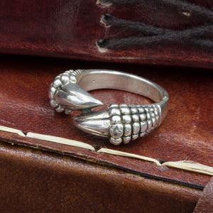 You added Sterling Silver Dragon Claw Ring to your cart.
