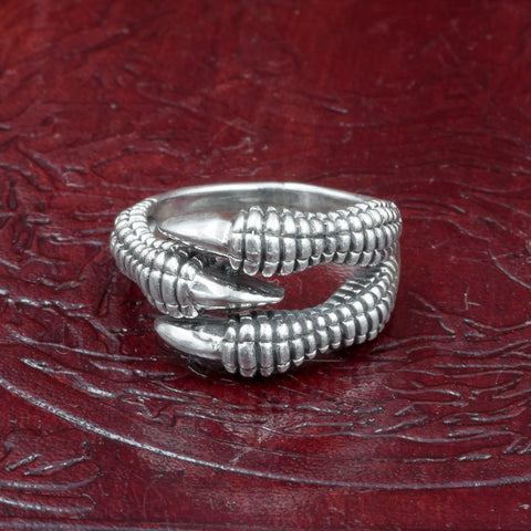 Sterling Silver Nidhogg Dragon Claw