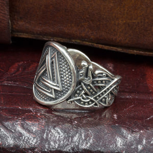 You added Sterling Silver Jelling Valknut Ring to your cart.