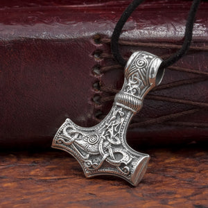 You added Large Sterling Silver Thor's Hammer (Mjölnir) to your cart.