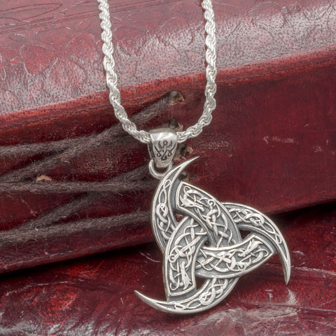 Sterling silver The Horns of Odin (Triskele)