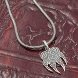 Sterling Silver Veles Paw Amulet