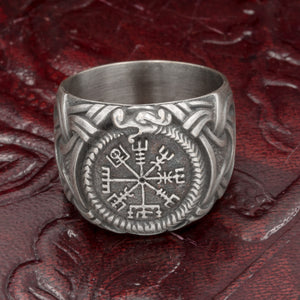 You added Sterling Silver Jormungandr Vegvisir Ring to your cart.