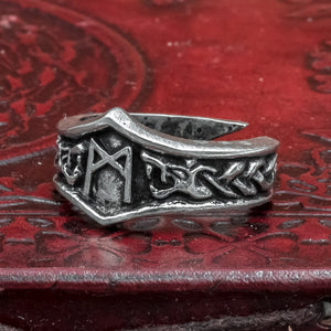 You added Mannaz Asgard Rune Ring to your cart.