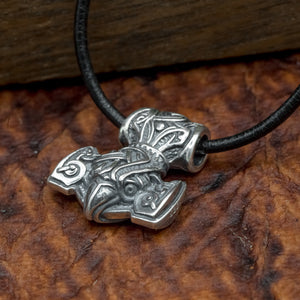You added 925 Sterling Silver Raven Mjolnir (Thor's Hammer) to your cart.