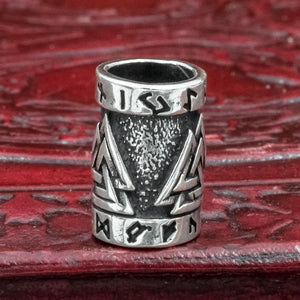 You added Sterling Silver Valknut Hair & Beard Bead to your cart.