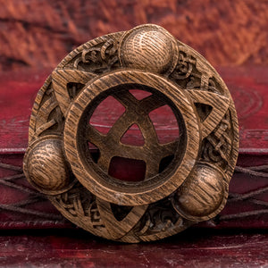 You added Triquetra Carved Wood Candle Holder to your cart.