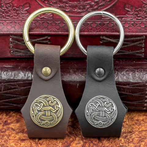 Leather Ring-Holder for Belts / Keyring