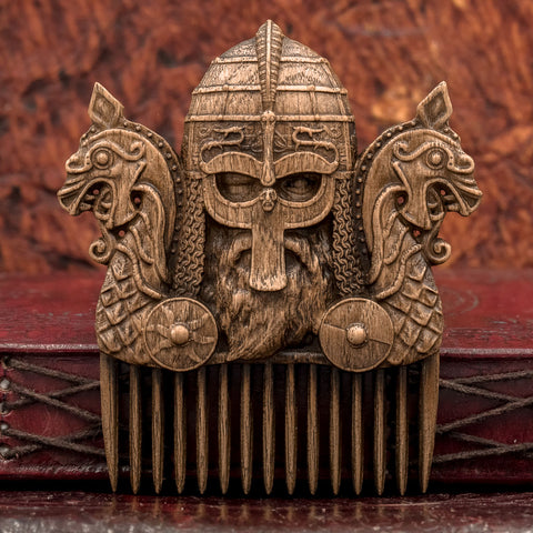 Viking Carved Comb
