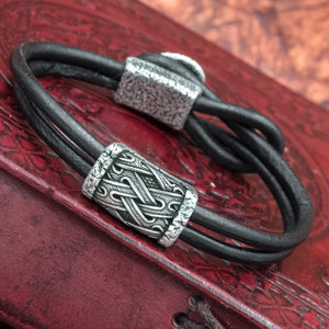 You added Silver plated Valknut Helm of Awe Hook Bracelet to your cart.