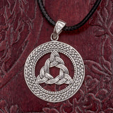 925 Sterling Silver Trinity Knot (Triquetra)