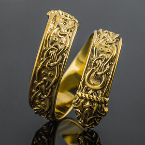 You added 18K Gold Jormungand Ring to your cart.