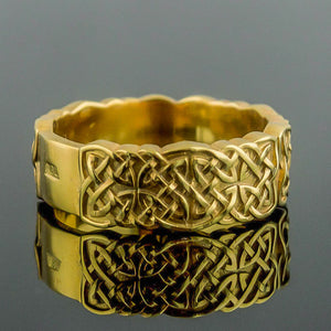 You added 18K Gold Knotwork Ring/Wedding Band to your cart.