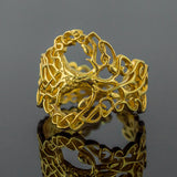 18K Gold Tree of Life Ring