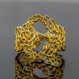 14K Gold Tree of Life Ring