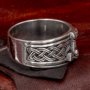 You added Sterling Silver Thor's Hammer ring to your cart.