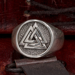 You added Sterling Silver Valknut Ring to your cart.