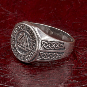 You added Sterling Silver Valknut and Rune Ring to your cart.
