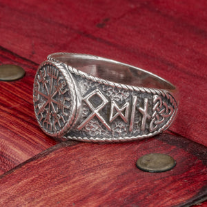 You added Sterling Silver Vegvisir ring to your cart.