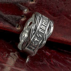 You added Sterling Silver Rune Ring/Wedding Band to your cart.
