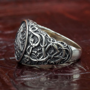 You added Sterling Silver Urnes Valknut Ring to your cart.
