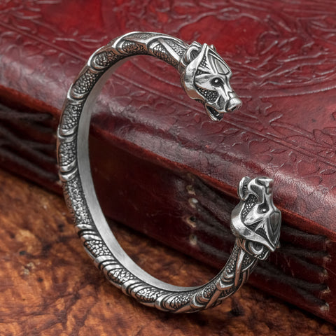skullvikings viking norse larp larping berserker bear pewter arm ring armring torc torque bangle uk