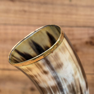 You added Brass Rim Drinking Horn + Horn Stand to your cart.