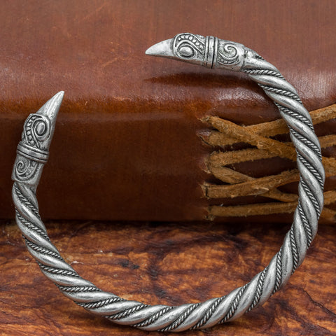 Huginn and Munnin Arm Ring