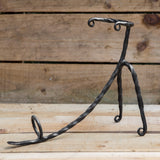 Luxury Hand Forged Iron Horn Stand (Regular)