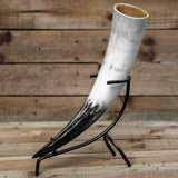 Drinking Horn with iron stand (Regular)