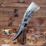 Drinking Horn + Horn Stand