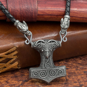 You added Thick Leather Cord Skane Thor's Hammer (Mjölnir) to your cart.