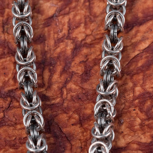 You added 925 Sterling Silver Wolf Kings Chain Bracelet to your cart.