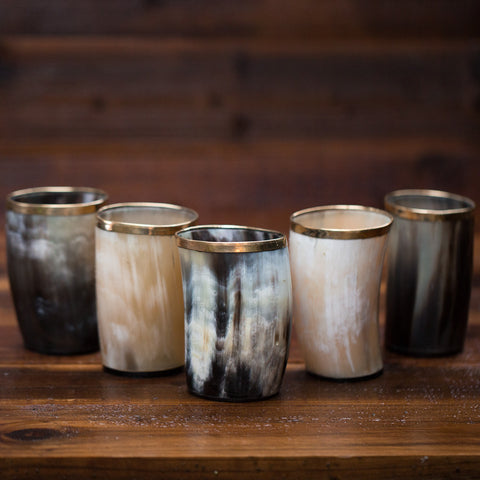 Set of Horn Cups (4)