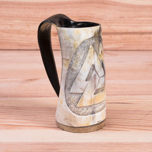 You added Carved Valknut Horn Tankard/Mug to your cart.