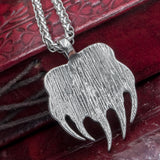 Stainless Steel Veles Paw Amulet