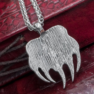 You added Stainless Steel Veles Paw Amulet to your cart.