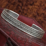 Sterling Silver Knotwork Arm Ring